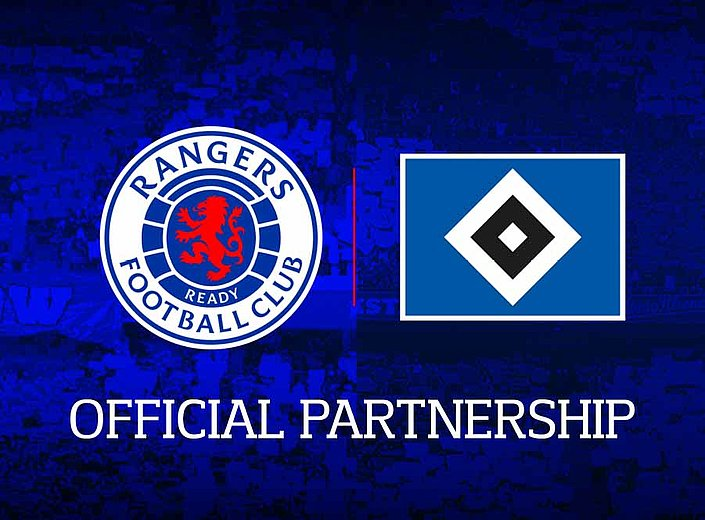 HSV and Rangers FC enter club partnership