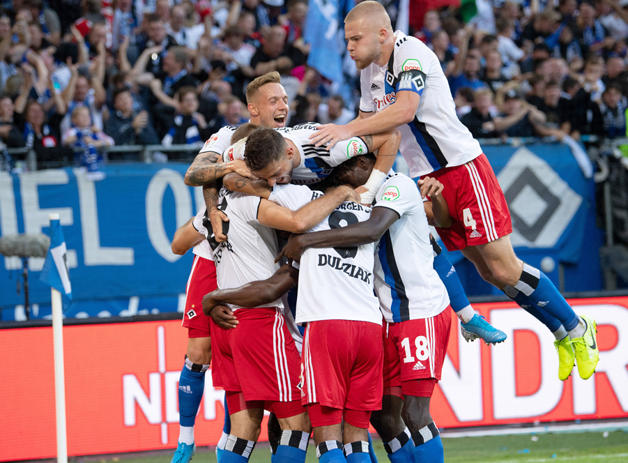 Hinterseer the difference as HSV down Bochum