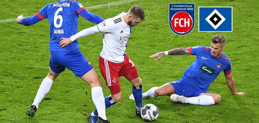Heidenheim Welcome Hamburg For Decisive Promotion Scrap Hsv De