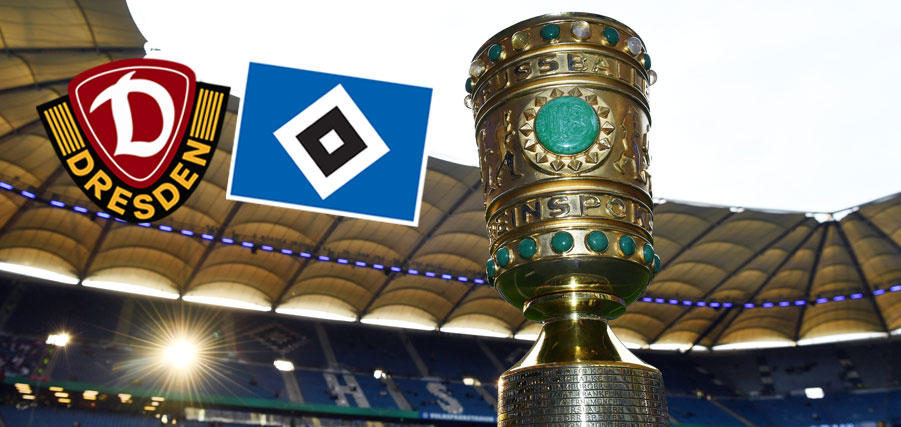 Dresden the hosts in DFB Pokal first round for HSV   HSV.de