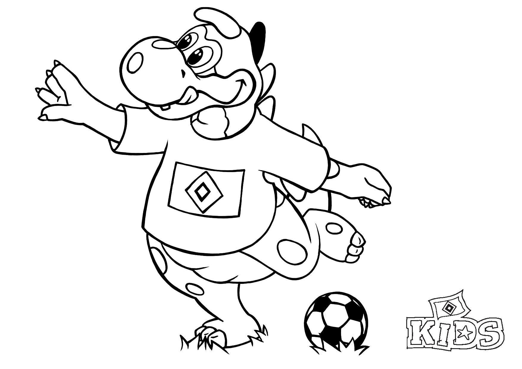 Tolle Dino-Ausmalbilder Für Zu Hause | HSV De