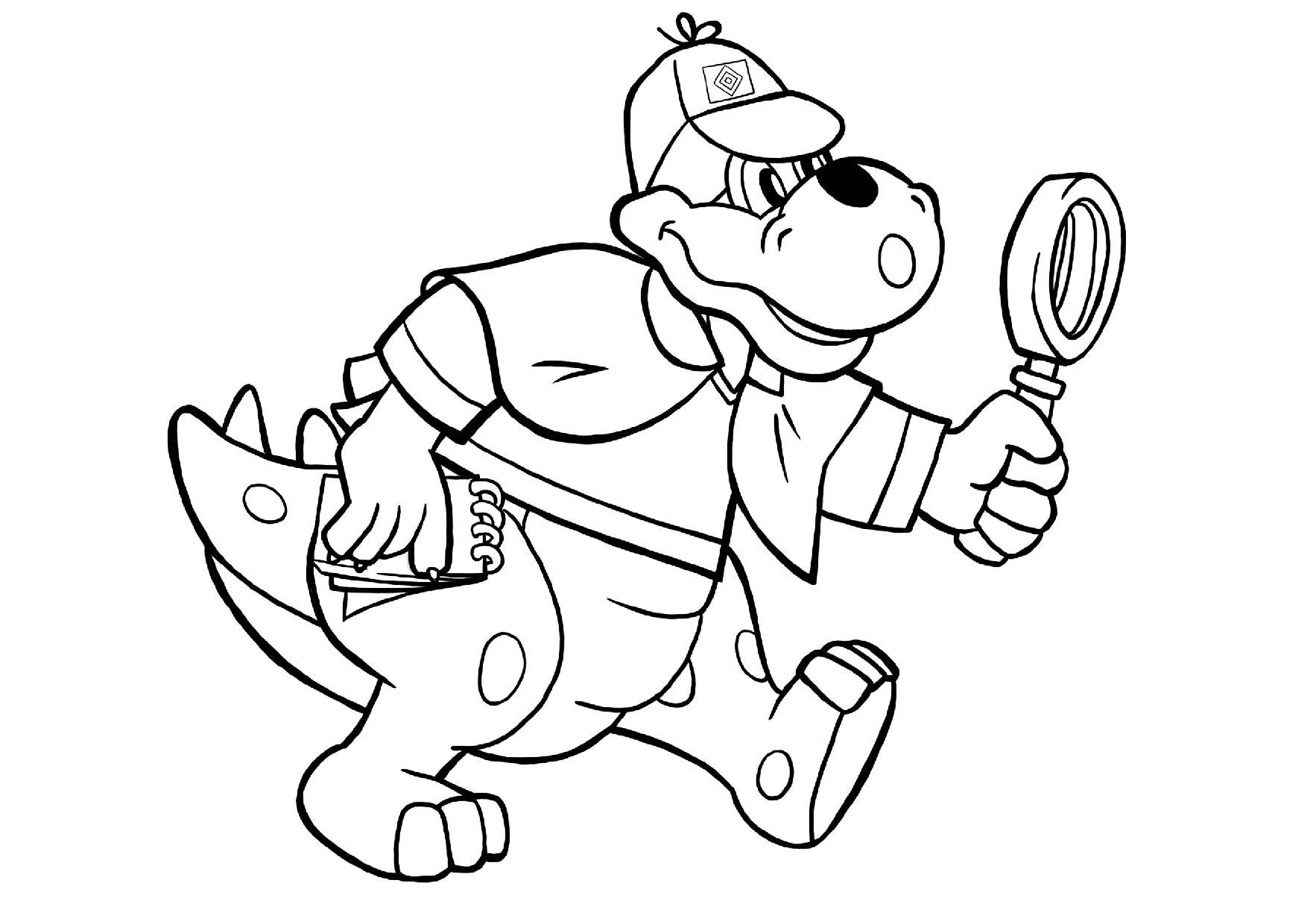 tolle dinoausmalbilder für zu hause  hsvde
