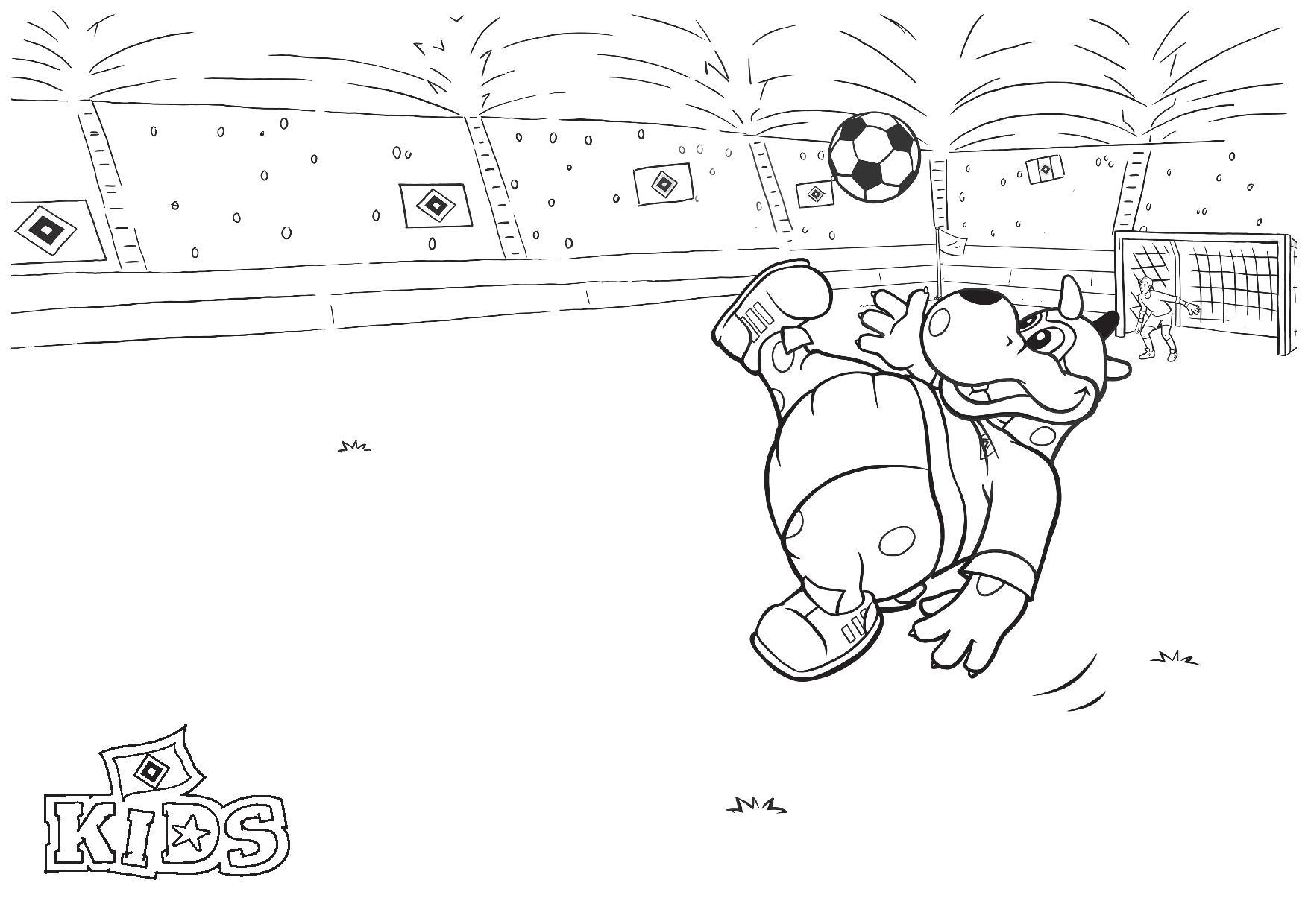 fußball bundesliga ausmalbilder / malvorlagen fussball rb