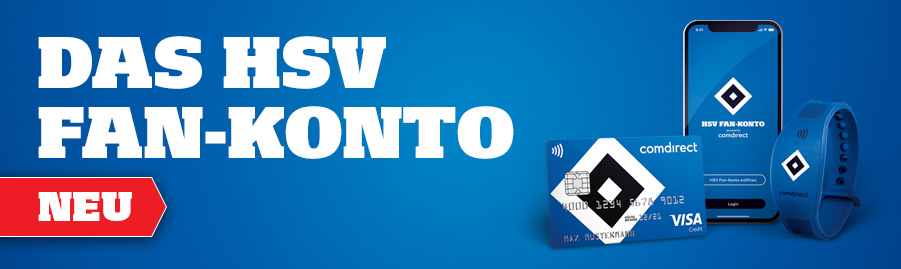 Visa Karte Comdirect.Hsv Fan Konto Hsv De
